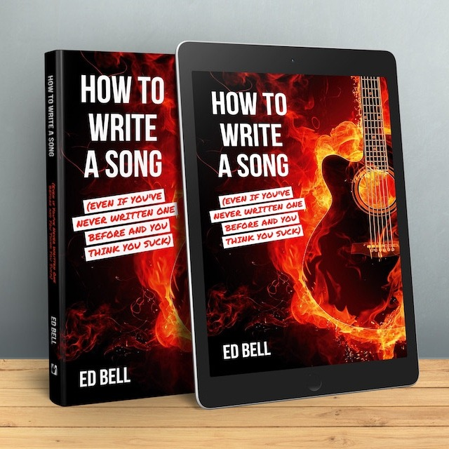 How to Write a Song... | The Definitive Songwriting eBook for Beginner Songwriters | e-Reader Mockup