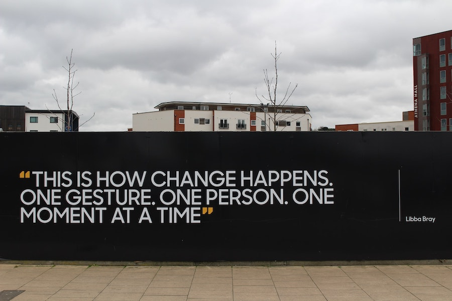 Nine Lessons as a Creative Entrepreneur - Wall Quotation