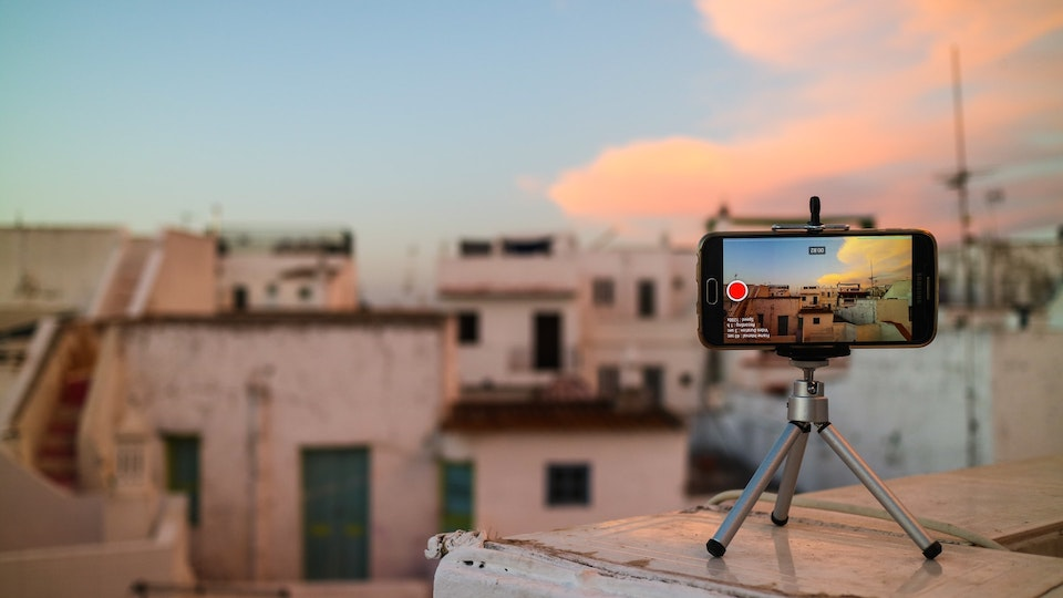 How to Livestream - Phone Camera on Rooftop