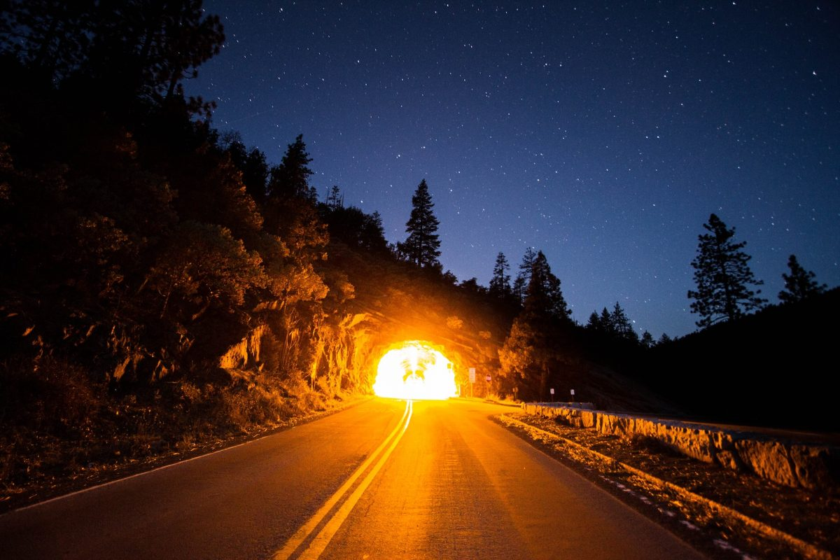 Picture of Tunnel with Light at end of it